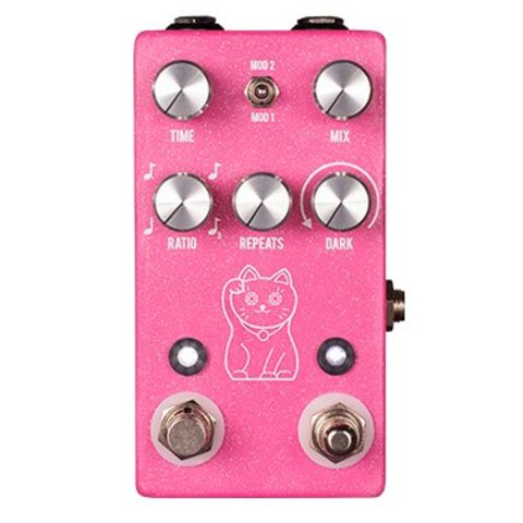 JHS Pedals Lucky Cat Delay - Pink