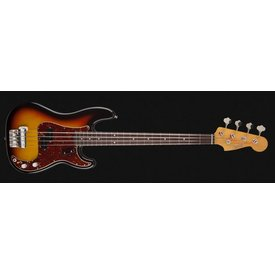 Fender Custom Shop Sean Hurley Signature 1961 Precision Bass, Rosewood Fingerboard, Faded 3-Color Sunburst