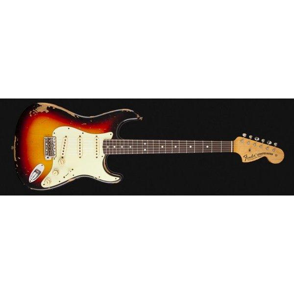 Fender Custom Shop Michael Landau Signature 1968 Relic Stratocaster, Round-Laminated Rosewood, Bleached 3-Color SB