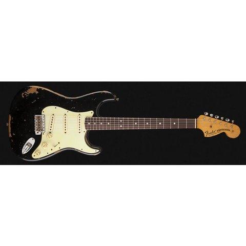 Michael Landau Signature 1968 Relic Stratocaster, Round-Laminated Rosewood, Black