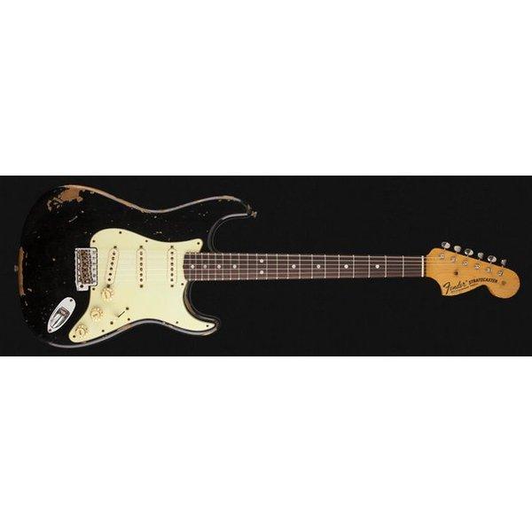 Fender Custom Shop Michael Landau Signature 1968 Relic Stratocaster, Round-Laminated Rosewood, Black