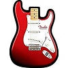 Stratocaster Mouse Pad, Red