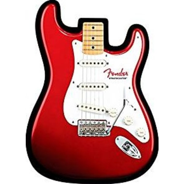 Fender Stratocaster Mouse Pad, Red