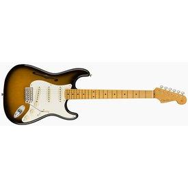 Fender Eric Johnson Thinline Stratocaster, Maple Fingerboard, 2-Color Sunburst