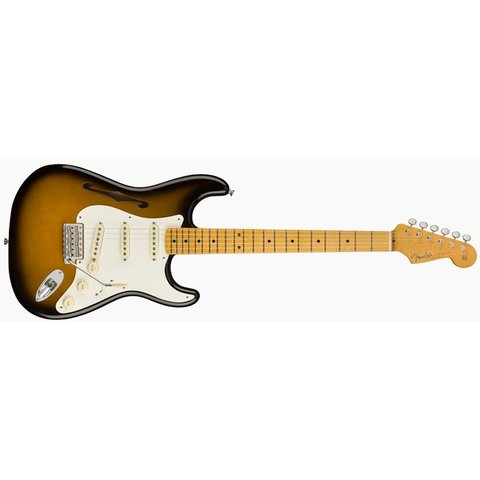 Eric Johnson Thinline Stratocaster, Maple Fingerboard, 2-Color Sunburst