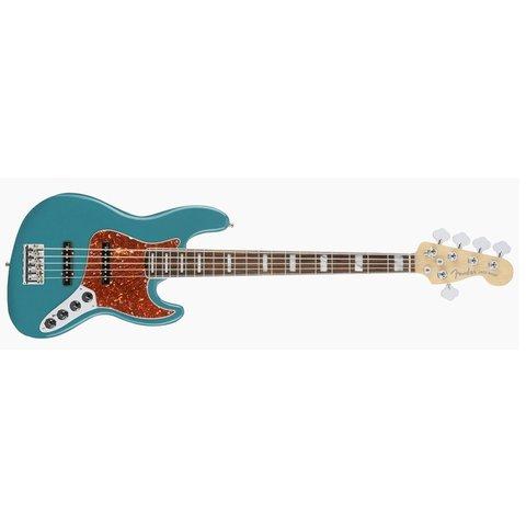 American Elite Jazz Bass, Ebony Fingerboard, Ocean Turquoise