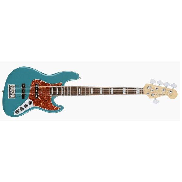 Fender American Elite Jazz Bass, Ebony Fingerboard, Ocean Turquoise