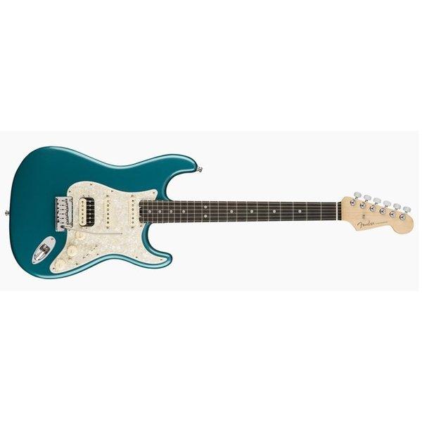 Fender American Elite Stratocaster HSS ShawBucker, Ebony Fingerboard, Ocean Turquoise