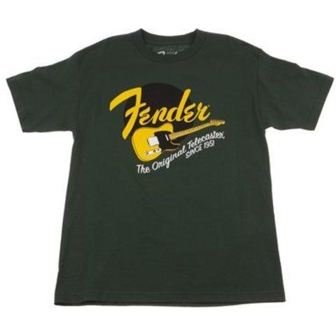 Fender Original Tele T-Shirt, Green, L