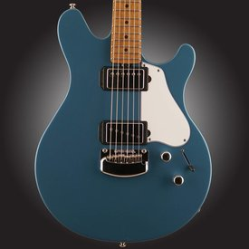 Music Man Ernie Ball Music Man Valentine Signature w/ Trem, Roasted Maple Neck, Toluca Lake Blue