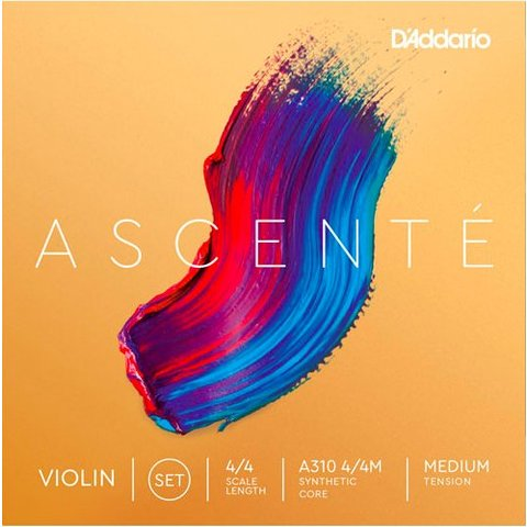 D'Addario A311 4/4M Ascente Violin E 4/4 Med