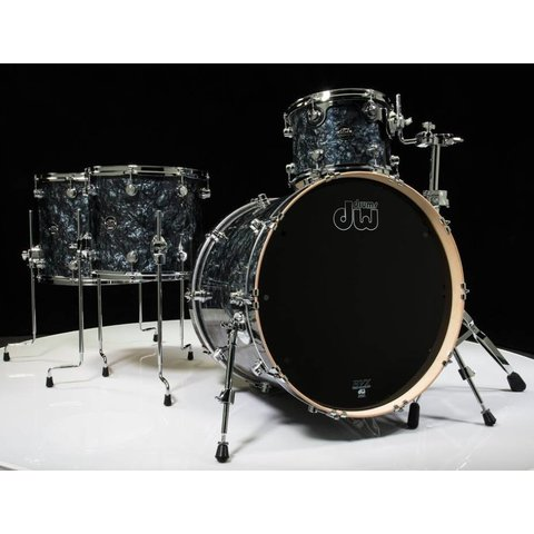 DW Drum Workshop Performance Series 4 pc shell pack Black Diamond 9 x 12 14 x 16 5.5 x 14 14 x 24