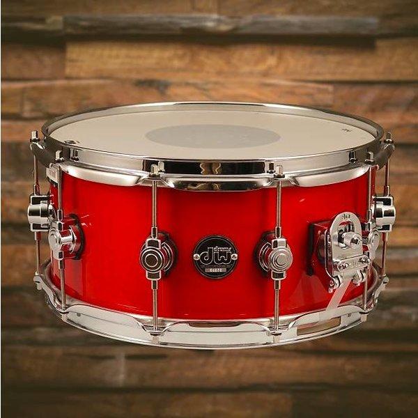 DW DW Drum Workshop Performance DRPL6514SSCA Snare Drum 6.5 x 14 Candy Apple Laquer