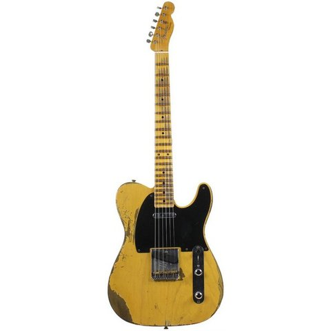 1953 Heavy Relic Telecaster, Maple Fingerboard, Butterscotch Blonde