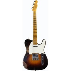 Fender Custom Shop 1953 Heavy Relic Telecaster, Maple Fingerboard, Wide-Fade 2-Color Sunburst