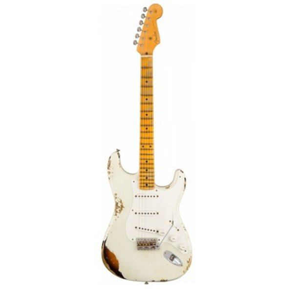 Fender Custom Shop 1955 Stratocaster Heavy Relic, '55 Desert Tan over Chocolate 2-Color Sunburst