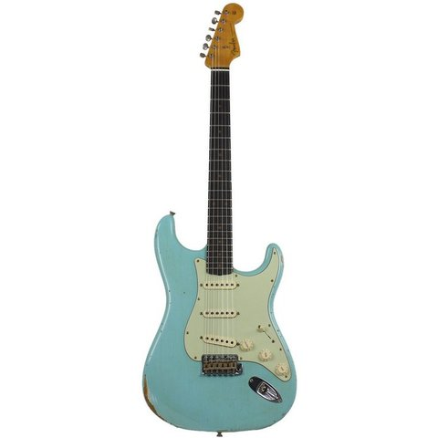1960 Relic Stratocaster, Rosewood Fingerboard, Aged Daphne Blue