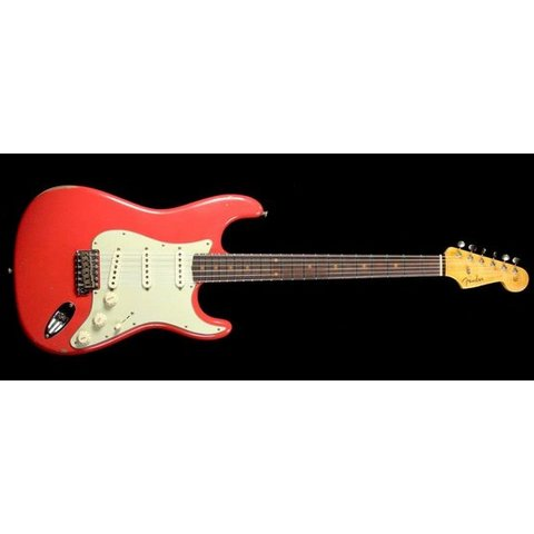 1960 Relic Stratocaster, Rosewood Fingerboard, Aged Fiesta Red