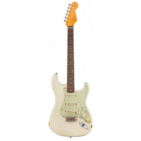 1960 Relic Stratocaster, Rosewood Fingerboard, Aged Olympic White
