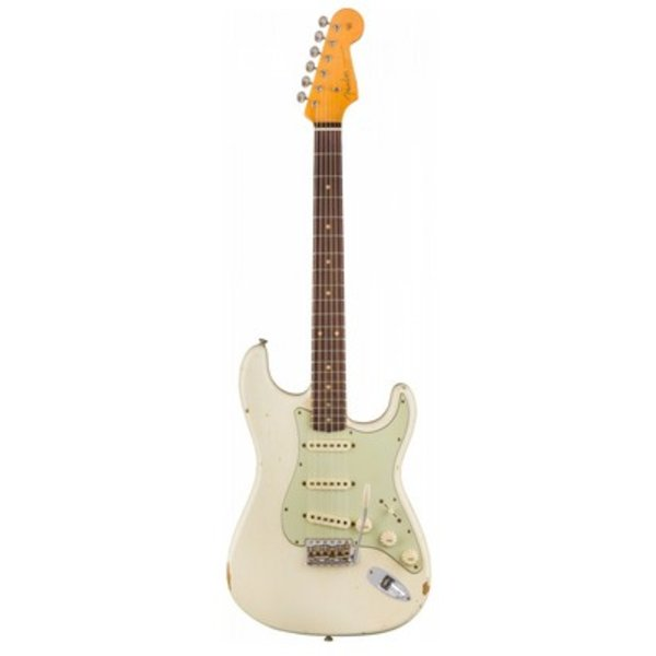 Fender Custom Shop 1960 Relic Stratocaster, Rosewood Fingerboard, Aged Olympic White