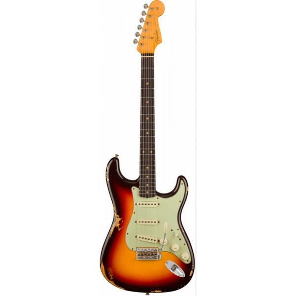 Fender Custom Shop 1960 Relic Stratocaster, Rosewood Fingerboard, Chocolate 3-Color Sunburst