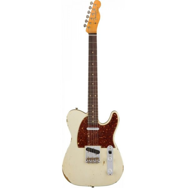 Fender Custom Shop 1961 Relic Telecaster, Rosewood Fingerboard, Aged Olympic White