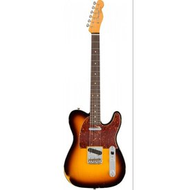 Fender Custom Shop 1961 Relic Telecaster, Rosewood Fingerboard, Faded 3-Color Sunburst