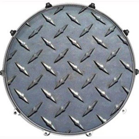 "Evans 22"" Texture Diamond Plate"