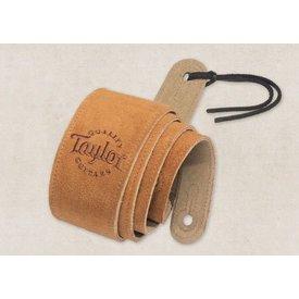Taylor Taylor Honey Suede Logo Guitar Strap