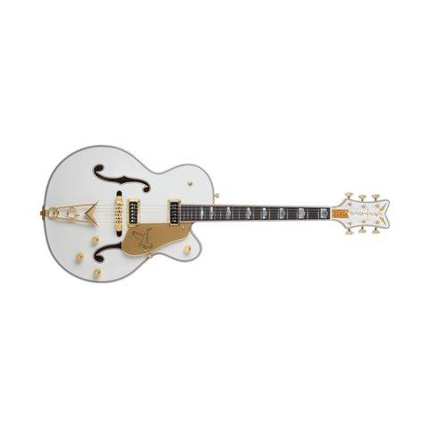 G6136CST USA Custom Shop White Falcon, Ebony Fingerboard, White