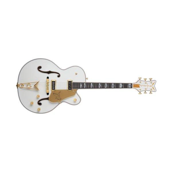 Gretsch Guitars G6136CST USA Custom Shop White Falcon, Ebony Fingerboard, White