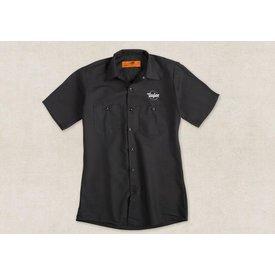 Taylor Taylor Guitar Stamp Work Shirt- XL Button Front Shirt