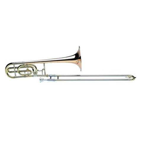 Holton TR150 Professional Tenor Trombone, Silver Plated Finish