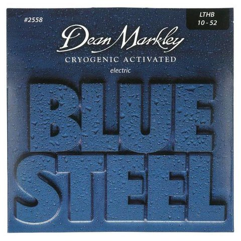 Dean Markley 25583PK Blue Light Top Heavy BTM, 10-52   3-Pack