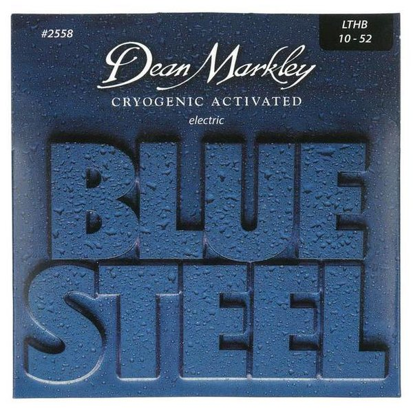Dean Markley Dean Markley 25583PK Blue Light Top Heavy BTM, 10-52   3-Pack