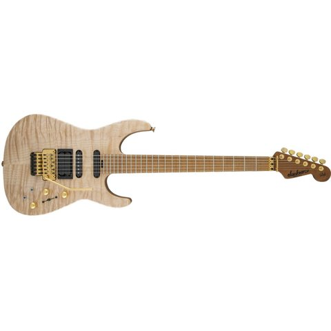 USA Signature Phil Collen PC1 Satin Stain, Caramelized Flame Maple Fingerboard, Satin Au Natural