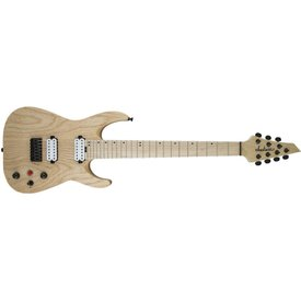 Jackson Pro Series Dinky DKA7M HT, Maple Fingerboard, Natural Ash