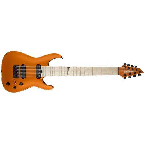 Pro Series Dinky DKA8M HT, Maple Fingerboard, Satin Orange Blaze