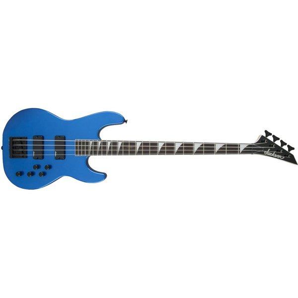 Jackson JS Series Concert Bass JS3, Rosewood Fingerboard, Metallic Blue