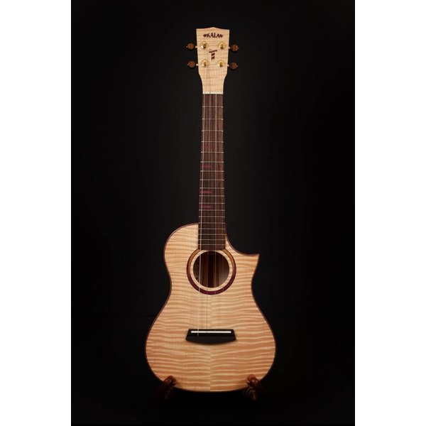 Kala Kala MAPL-T-3C-C Gloss/All Solid Maple Tenor Ukulele