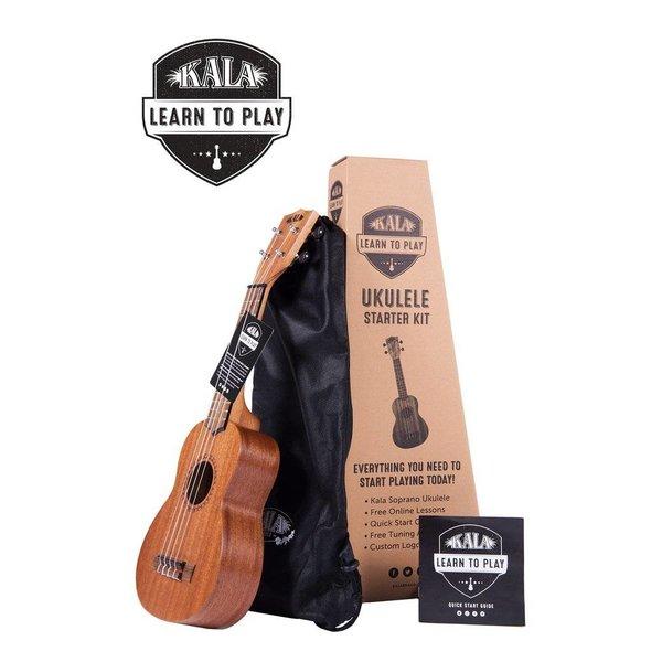 Kala Kala KALA-LTP-S Kala Ukulele, Bag, Quickstart Guide, Tuner App, Soprano Ukulele