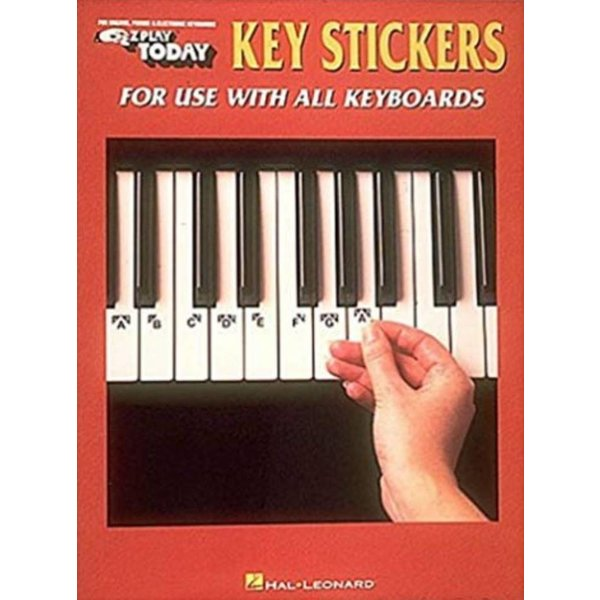 Hal Leonard Key Stickers