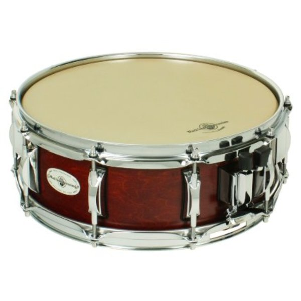 Black Swamp Percussion LLC Black Swamp Concert Maple 5'' x 14'' 7-Ply Maple, 2.3mm Hoops, Cherry Rosewood Finish