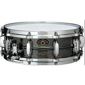 TAMA Tama KA145N Kenny Aronoff Signature 5x14'' Engraved Brass Snare Drum