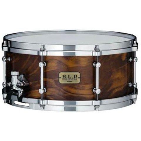Tama LSP146WSS S.L.P. Fat Spruce 6''x14'' Snare Drum - Wild Satin Spruce Finish