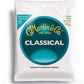 Martin Martin M260 Ball End Classical Guitar Strings