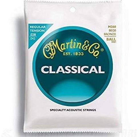 Martin M260 Ball End Classical Guitar Strings