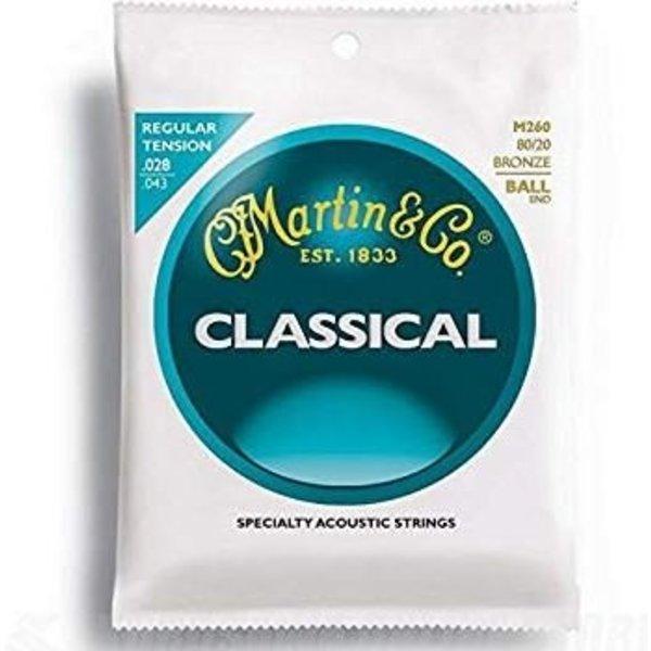 Martin Martin M260 Ball End Classical Guitar Strings