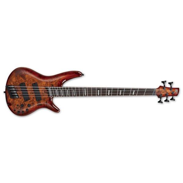 Ibanez Ibanez SR Bass Workshop 5str Electric Bass - Multiscale - Brown Topaz Burst