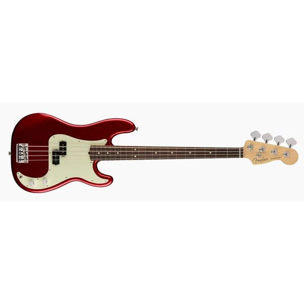 Fender American Pro Precision Bass, Rosewood Fingerboard, Candy Apple Red